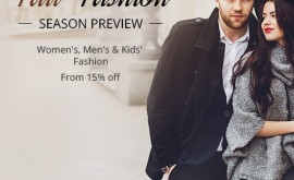 15% off fashion